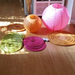 Other - Paper lanterns w battery pack